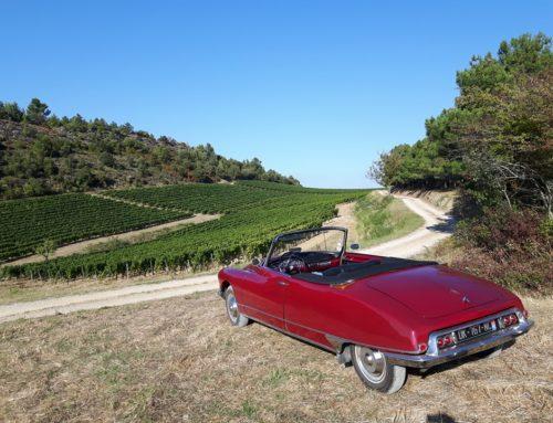 Visitez la Bourgogne, en voiture de collection,